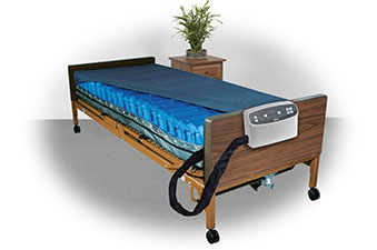 Alternating Pressure and Low Air Loss Mattress Systems