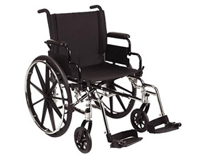 Manual Wheelchairs: Heavy Duty Wheelchair