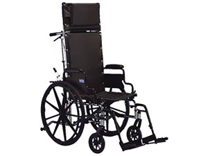 Manual Wheelchairs: Reclining Back Wheelchair