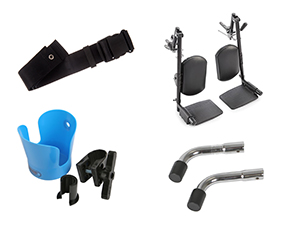Manual Wheelchairs: Wheelchair Accessories