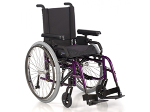 Complex Rehab Wheelchair: Manual Ultralight Wheelchair with Adjustable Axle Plate
