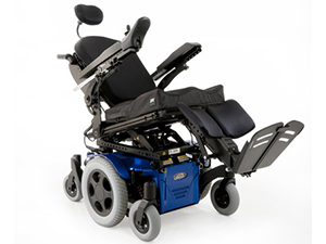 Rehab Wheelchair: Power Tilt Seating Systems